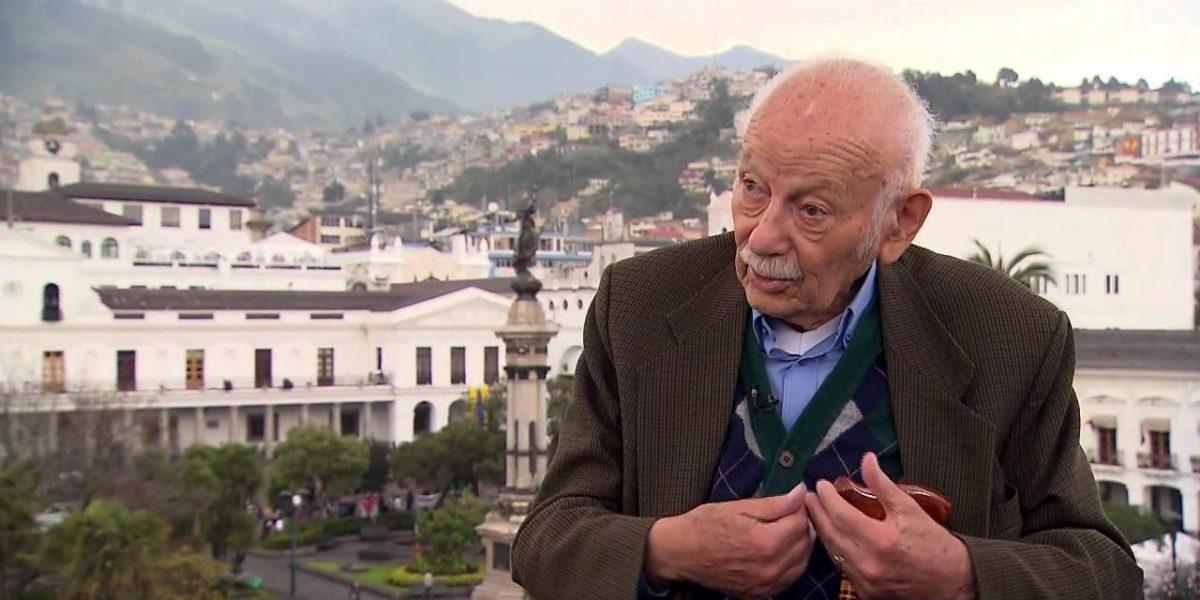 Fallece el expresidente Sixto Durán Ballén