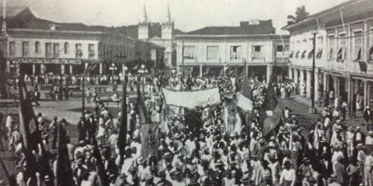 Hoy, 15 de noviembre, se recuerdan 94 años de la matanza obrera en Guayaquil