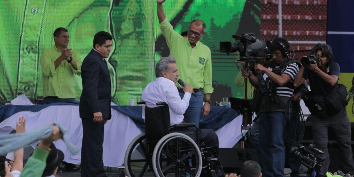 Lenín Moreno y Jorge Glas se mantienen en PAIS