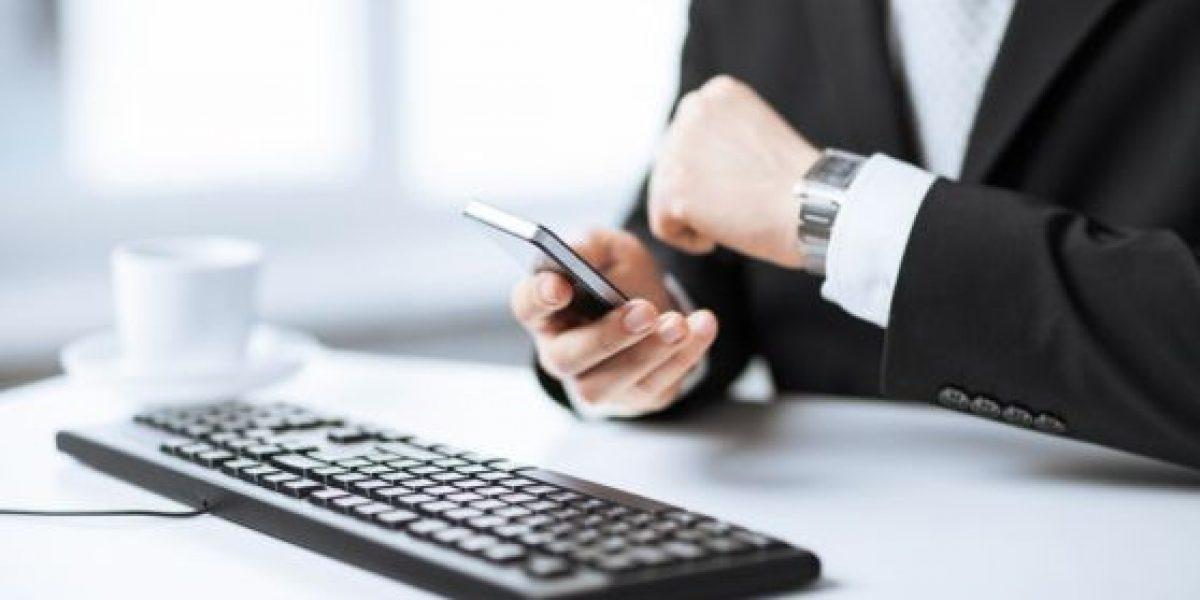 ¿Cómo influye uso del teléfono móvil en el trabajo?