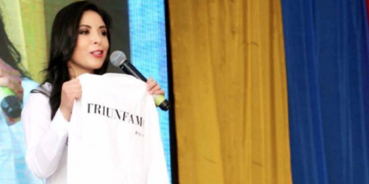Pamela Aguirre quiere llegar al Parlamento Andino