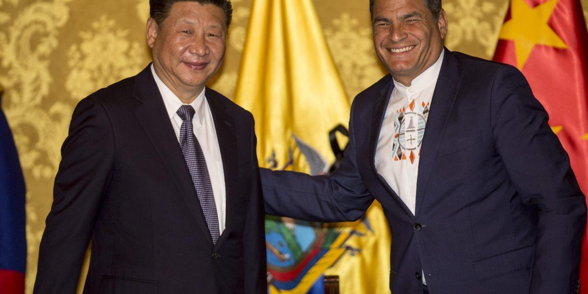 Correa expresa a Xi