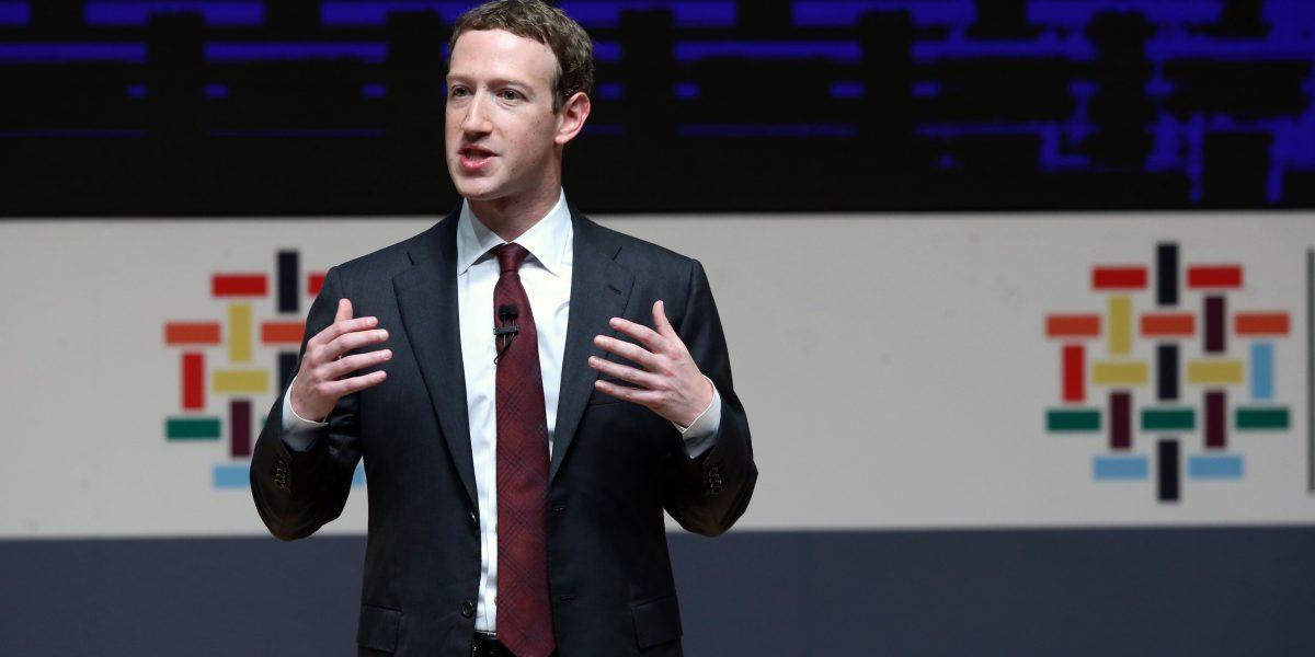 ¿Por qué no se puede etiquetar ni bloquear a Mark Zuckerberg?