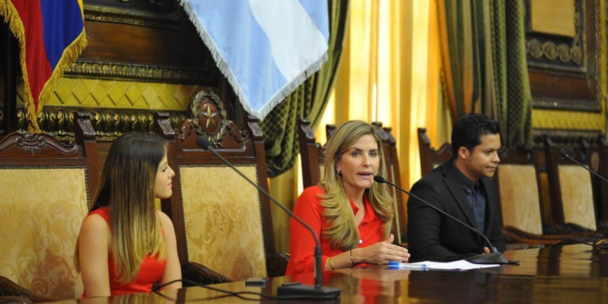 Vicealcaldesa entregó acuerdo de condolencias