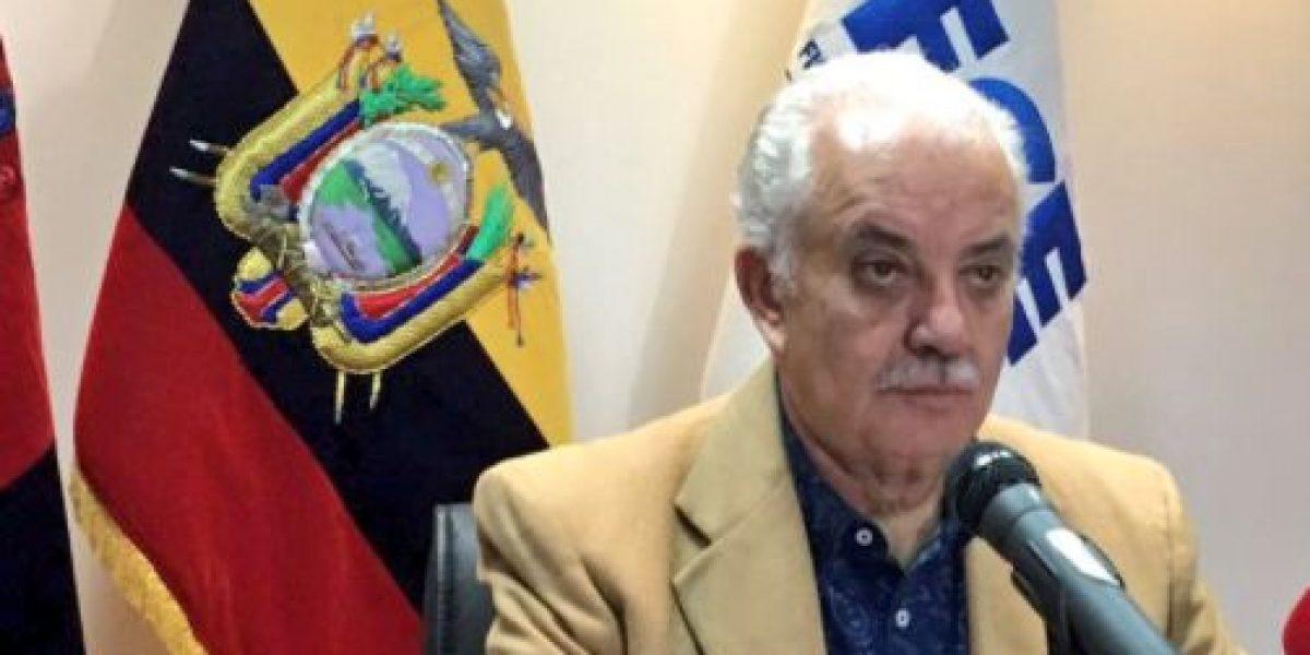 Luis Chiriboga cumplirá sentencia en centro penitenciario
