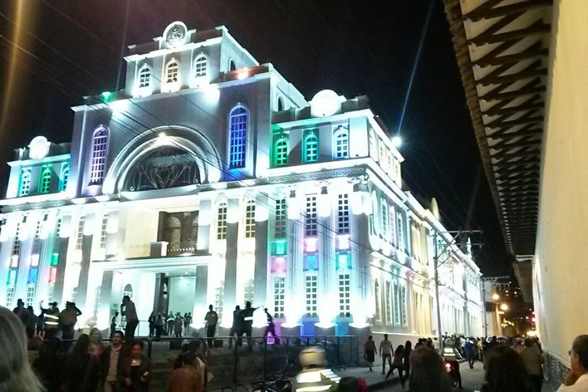 Teatro Bolívar de Loja/Metro. Imagen Por: Teatro Bolívar de Loja/Metro
