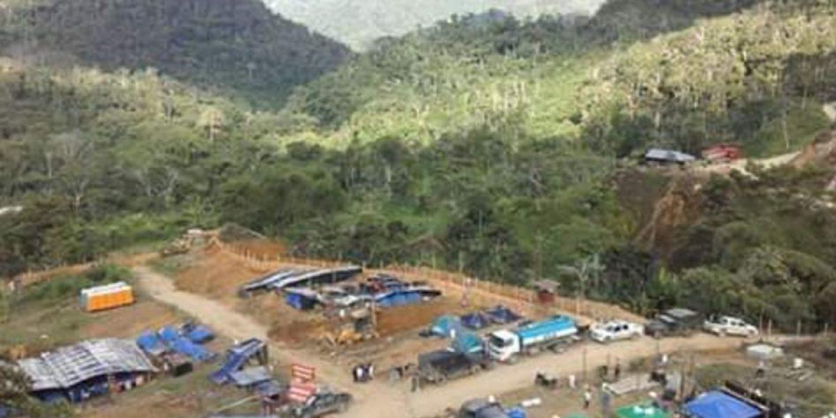 Indígenas Shuar se toman campamento minero en Nankints