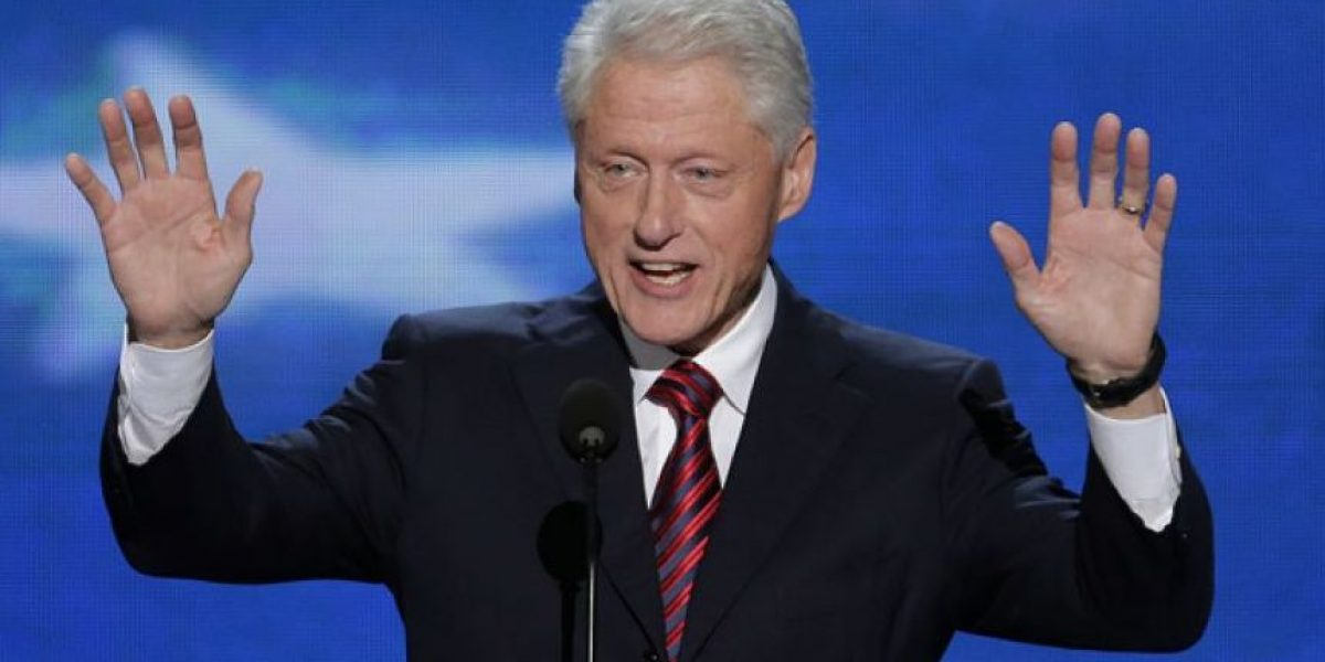 Supuesta foto de Bill Clinton desnudo se hace viral
