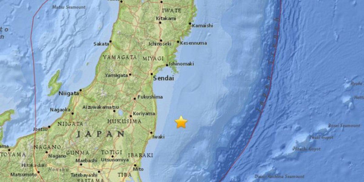 En vivo llegada de tsunami tras terremoto de 7,3 que sacudió Fukushima