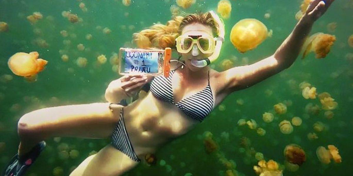 Chica de 27 años quiere convertirse en la primera en visitar todos los países de la Tierra