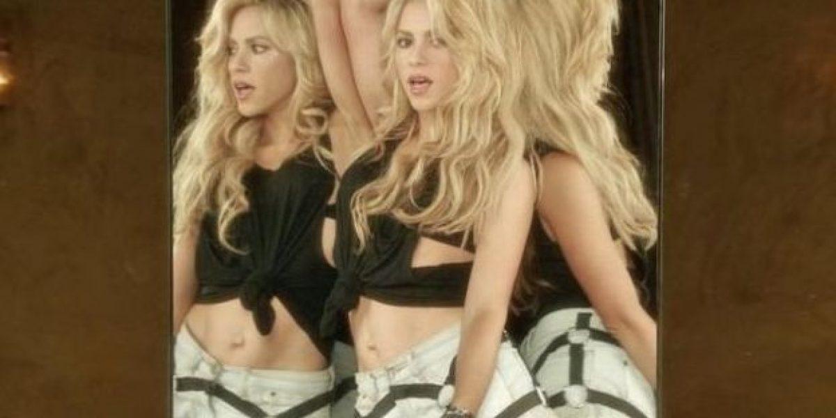 Shakira da qué hablar por este extraño detalle en su cuerpo