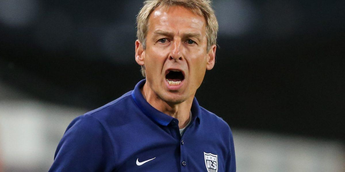 Jurgen Klinsmann fue despedido de la selección de Estados Unidos