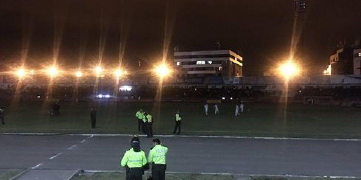 Juego entre Deportivo Cuenca y Emelec demorado por falla de luz