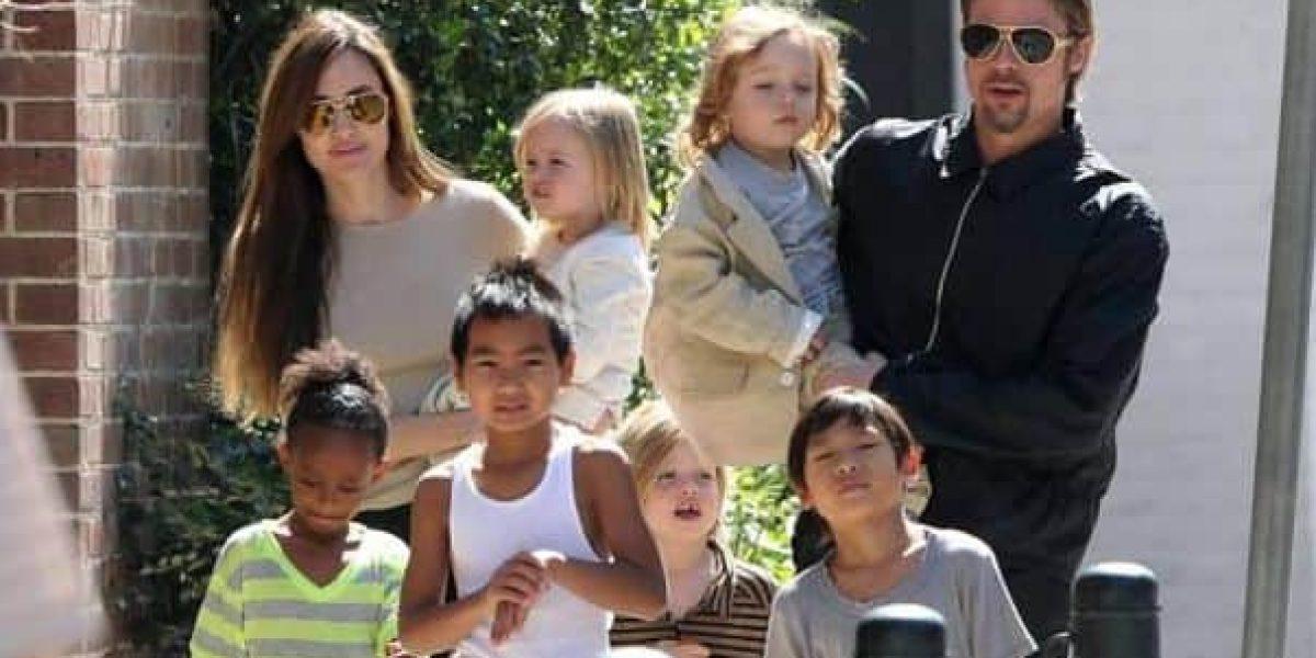Hijos de Brad Pitt no pasarán Día de Acción de Gracias con él