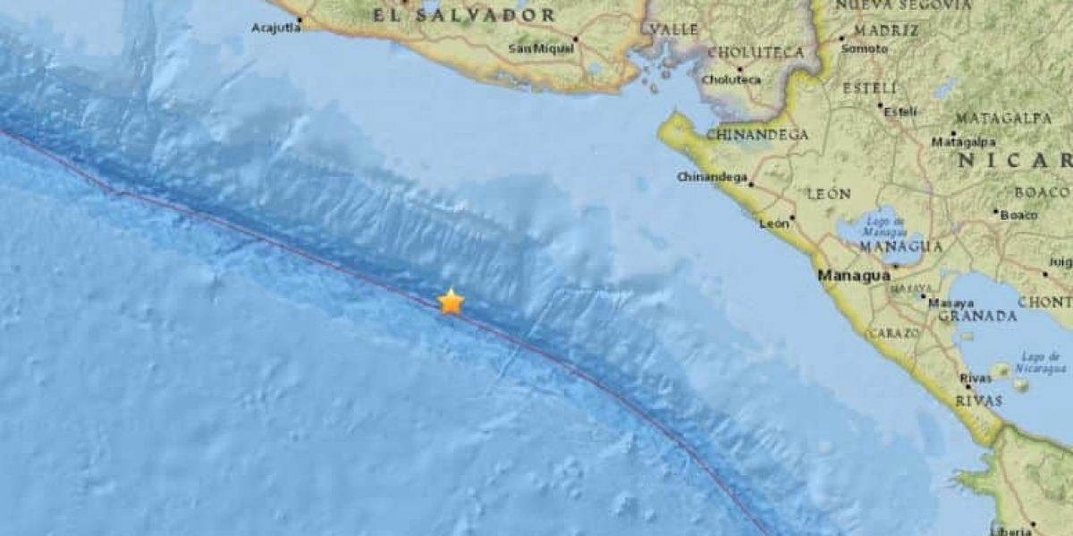 Terremoto de 7.2 sacude las costas de El Salvador