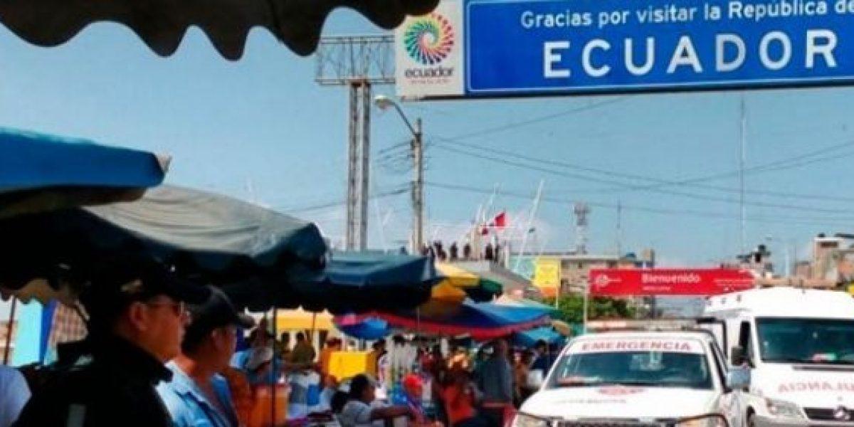 Localidades fronterizas de Perú y Ecuador participaron en simulacro de sismo