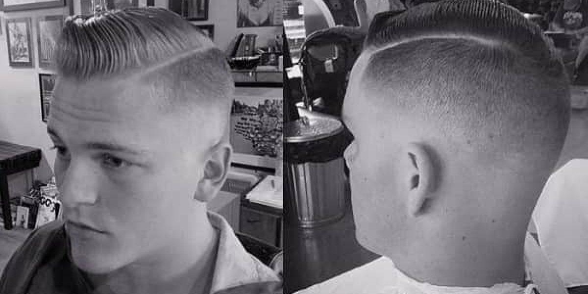 ¿Cuál es el origen del peinado con la raya al lado?