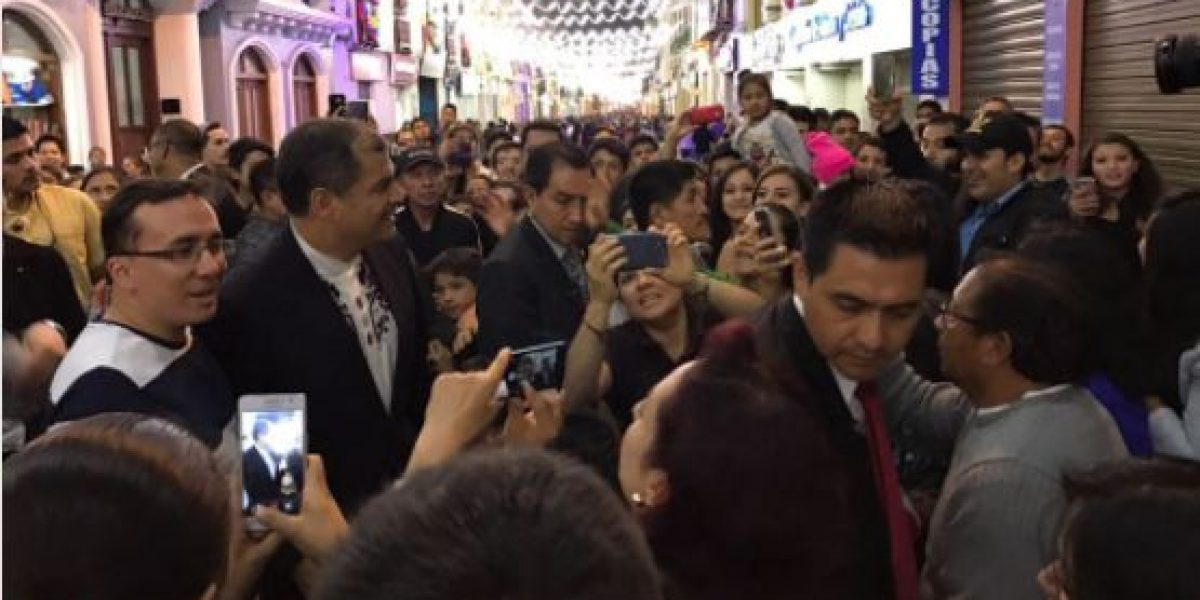 Difunden video de Correa golpeándose contra un poste
