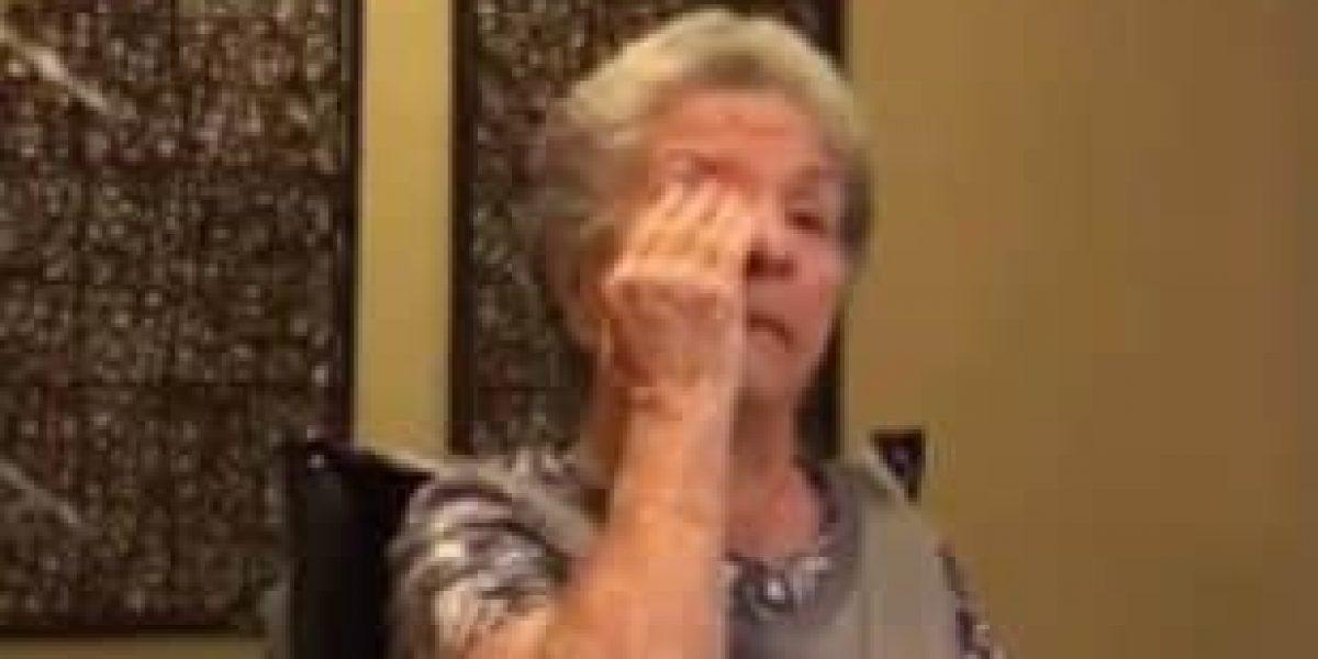 Abuela con Alzheimer reaccionó con la muerte de Fidel Castro
