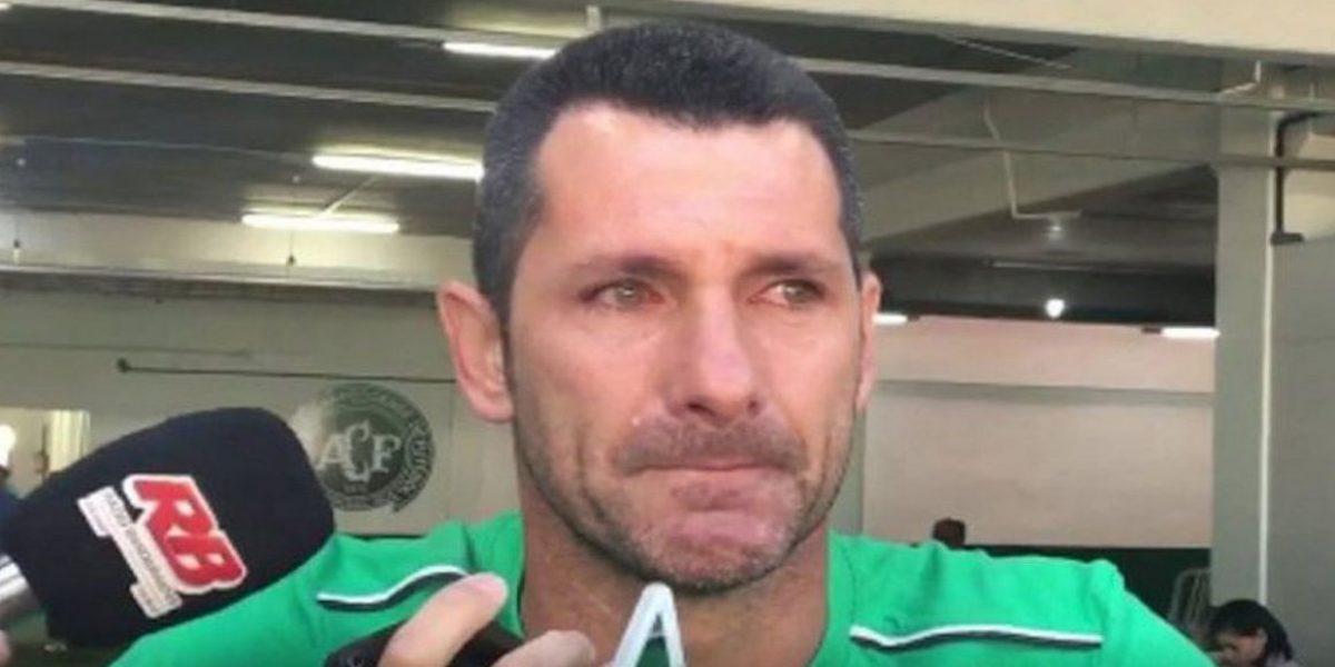 Arquero de Chapecoense anunció su retiro tras la pérdida de sus compañeros