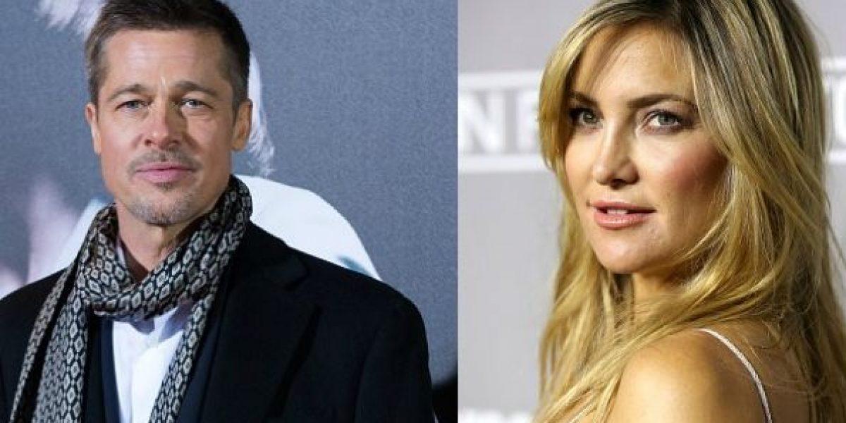 ¿Brad Pitt y Kate Hudson en un romance?
