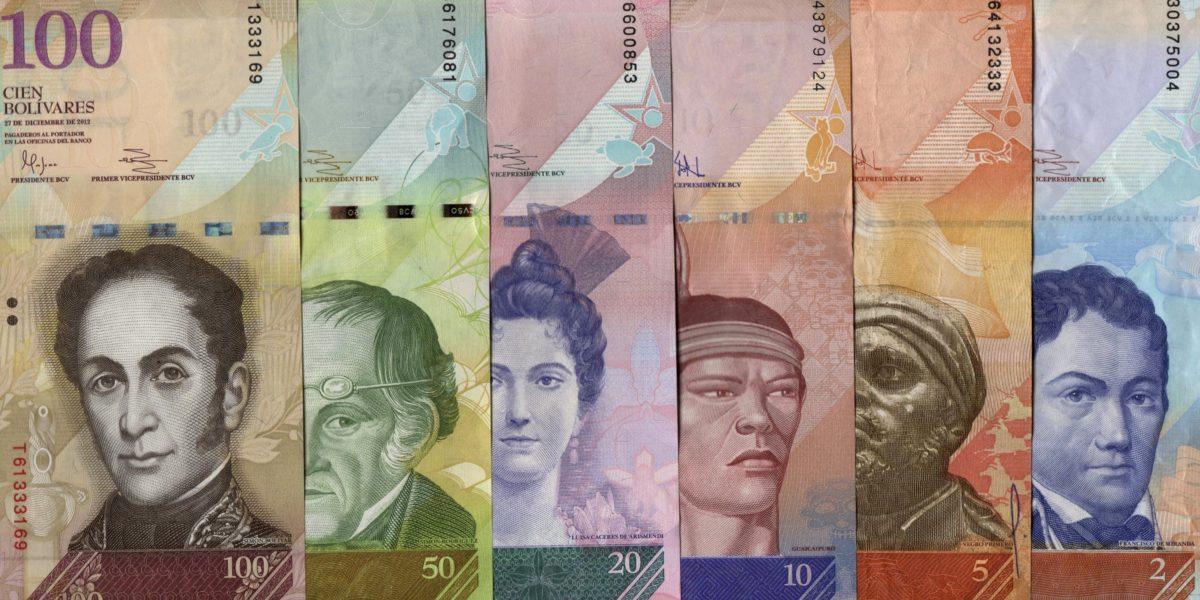 Venezuela emitirá seis nuevos billetes