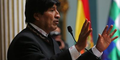Evo Morales acusó a Chile de cometer un