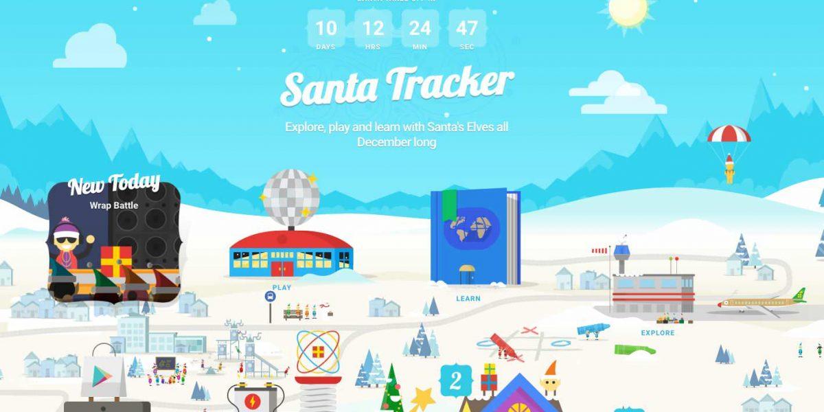 Google Maps Seguira Ruta De Papa Noel En Navidad Metro Ecuador