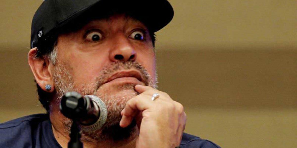 Maradona asegura que el fútbol argentino