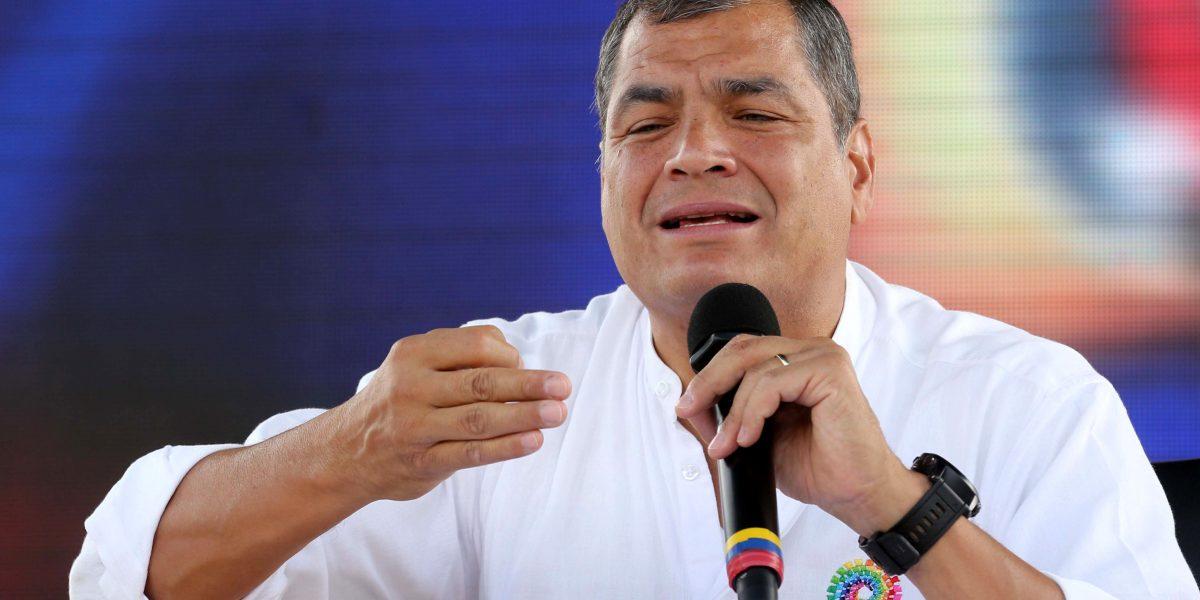 Correa reveló temas que usará la oposición en contra del gobierno