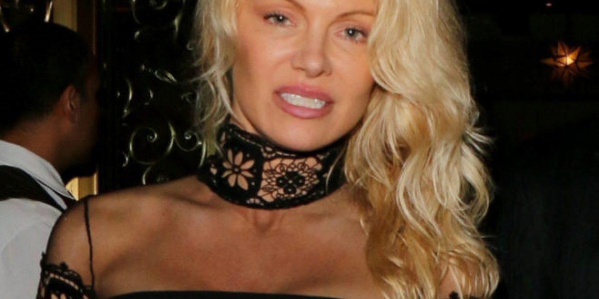 ¿Qué le pasó en el rostro de Pamela Anderson?