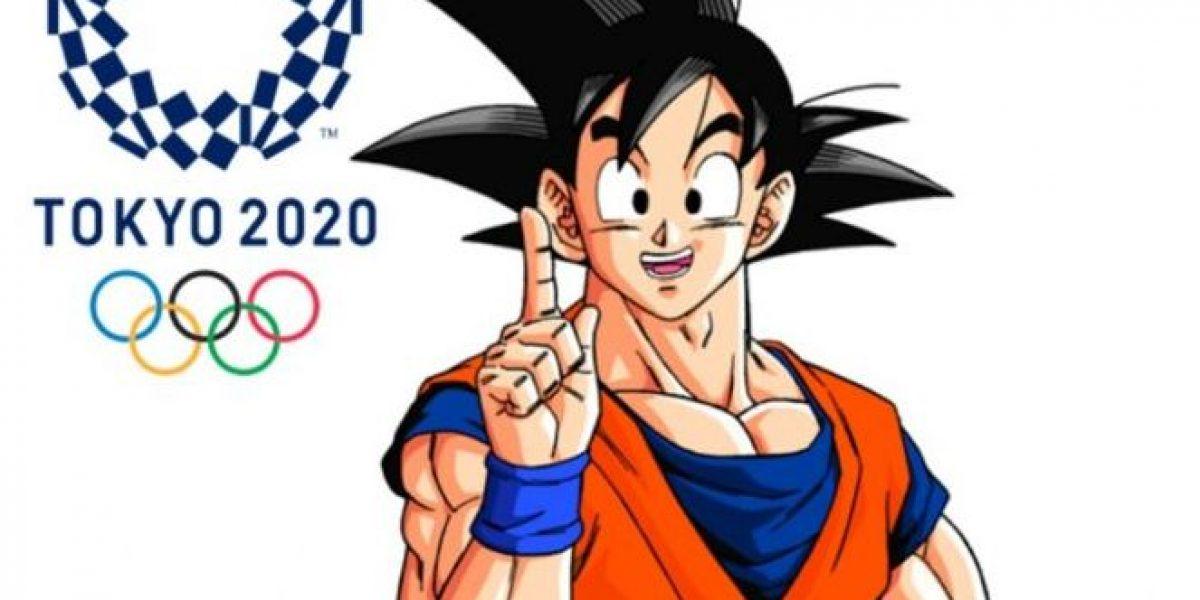 Gokú será embajador de los Juegos Olímpicos Tokio 2020