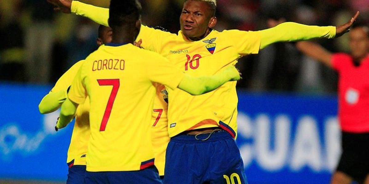 Selección ecuatoriana se reforzó con tres jugadores de la sub20