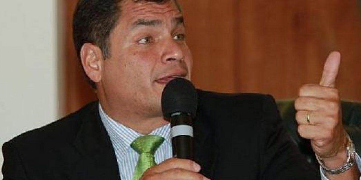 Correa y Pareja Yannuzzelli se confrontan en Twitter
