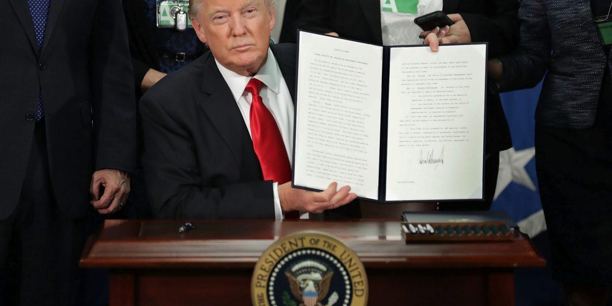 Estrés se disparó en EE.UU. por gobierno de Donald Trump