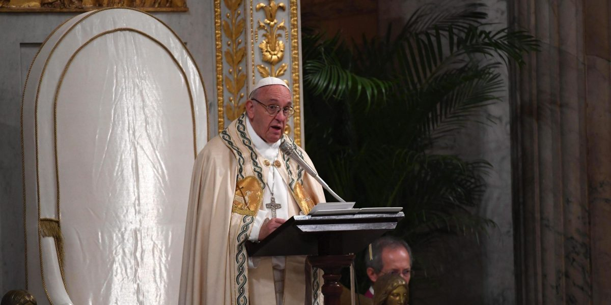El papa propuso reunión entre Gobierno y oposición venezolana en el Vaticano