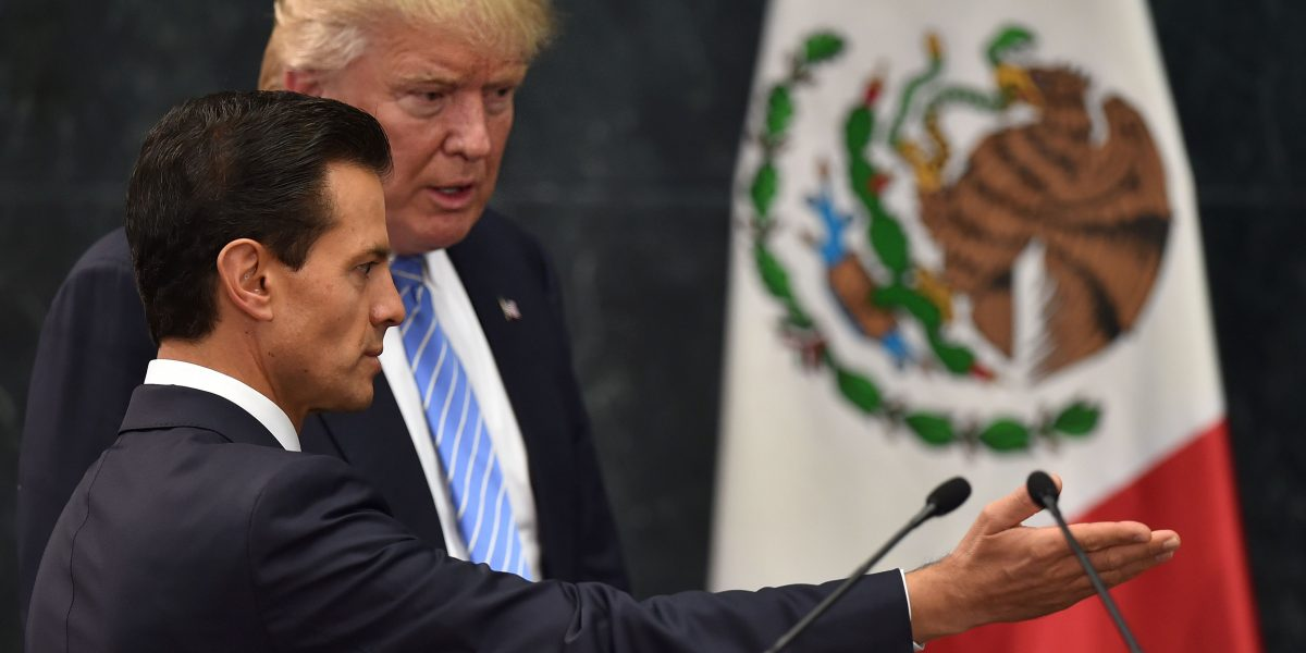 México rechaza reportes sobre humillaciones y amenazas de Trump