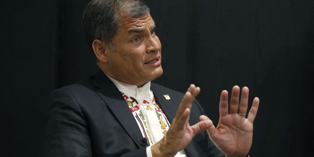 Correa se pronuncia a las medidas migratorias de Trump