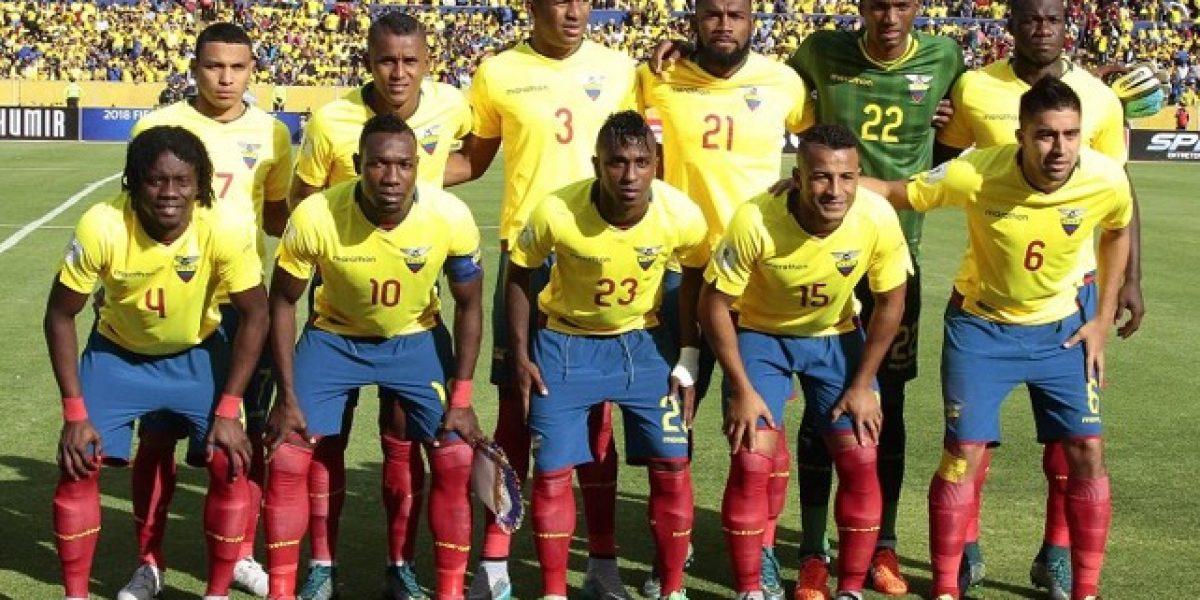 Ecuador venció a Honduras en amistoso