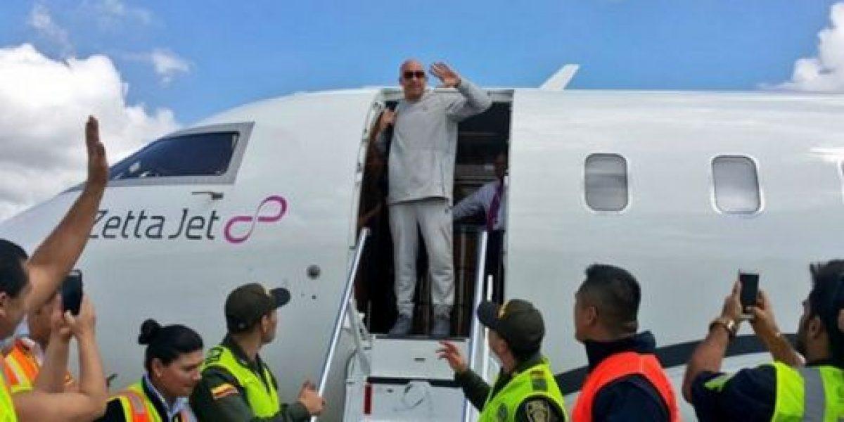 Vin Diesel llegó a Colombia