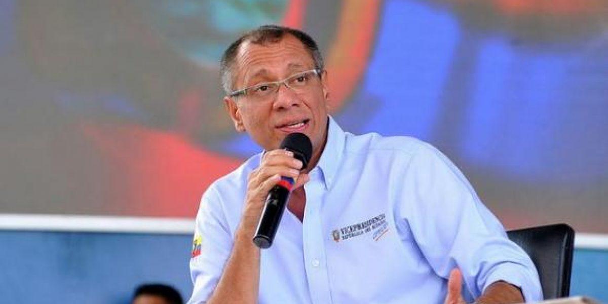 Jorge Glas no descarta procesos judiciales luego de elecciones