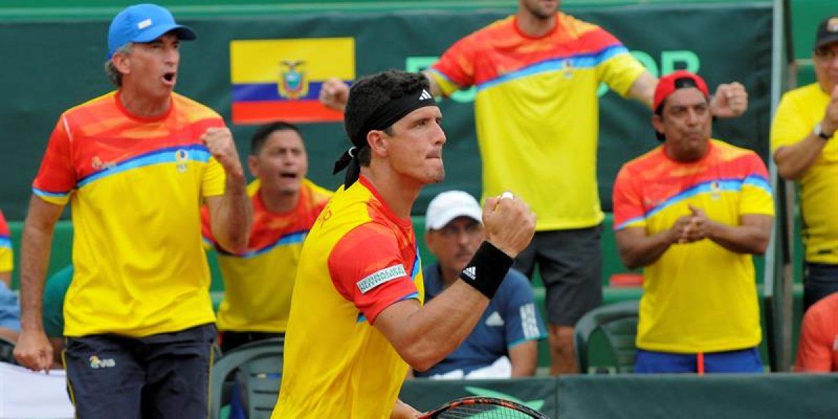 Ecuador venció a Perú en la Copa Davis