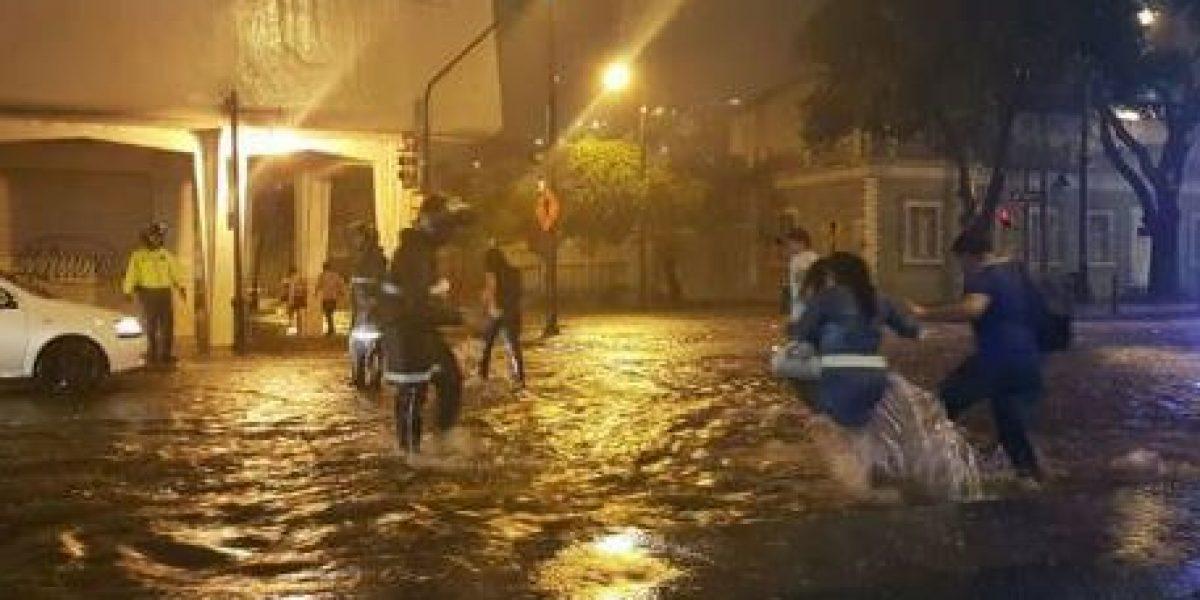Guayaquil se vio afectada por fuerte lluvia del viernes