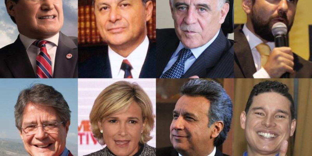 Candidatos presidenciales defienden la democracia y la justicia