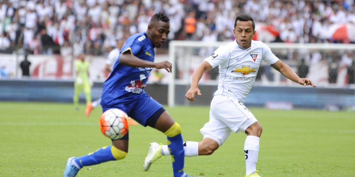 Delfín sorprendió a Liga de Quito