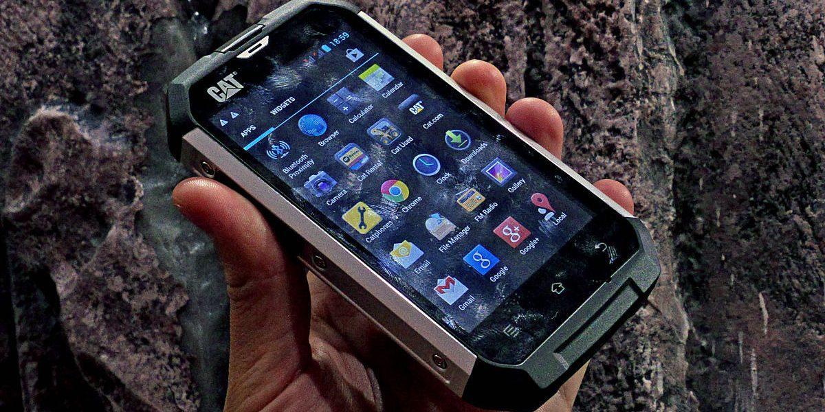 Nuevos celulares Cat llegarán a Ecuador