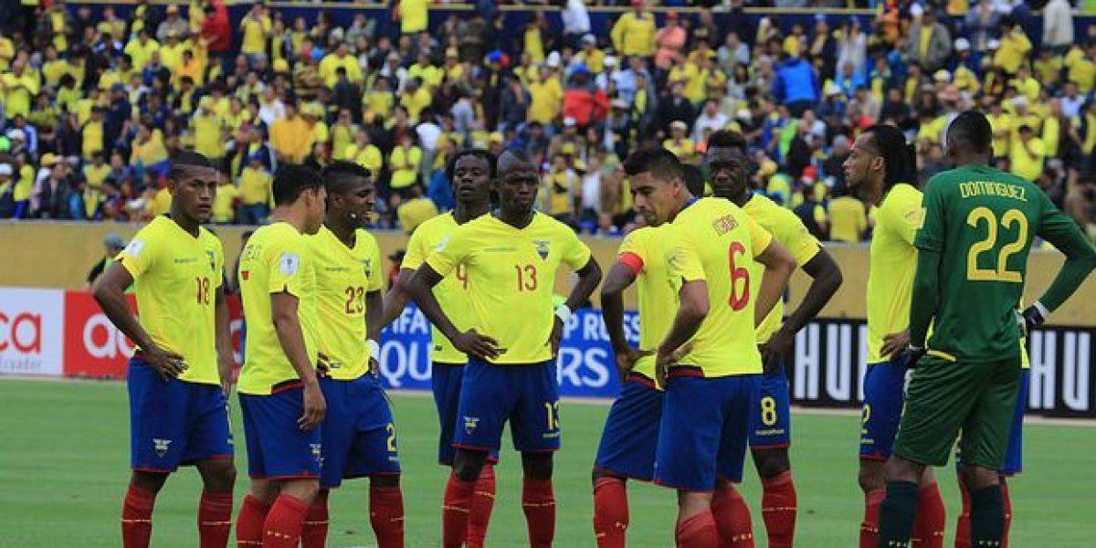 Ecuador cae dos posiciones en el ranking FIFA