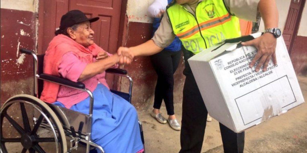 Elecciones 2017: CNE ejecutó un simulacro de voto en casa
