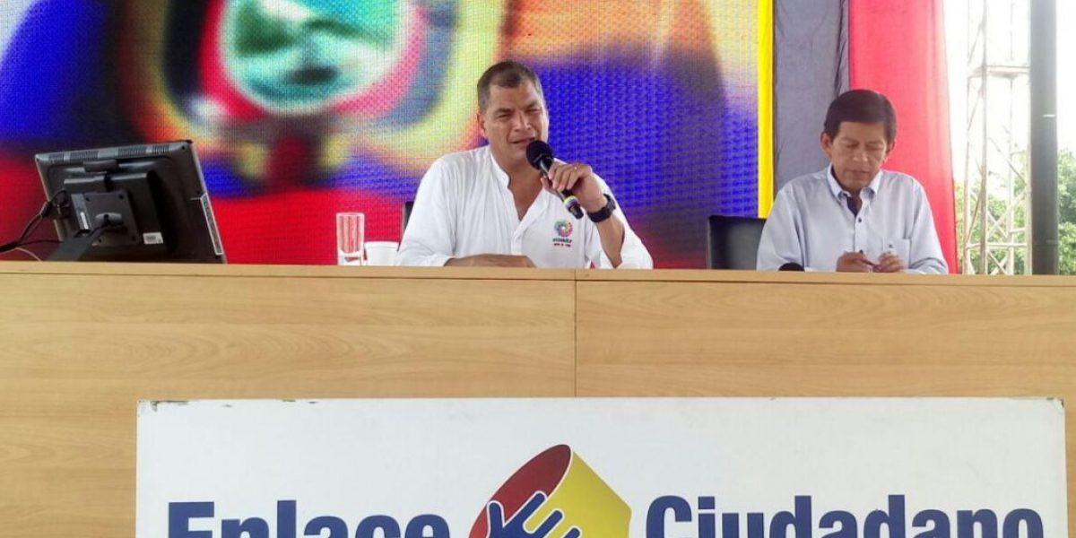 Correa aprovechará reunión con Santos para hablar sobre comercio de arroz