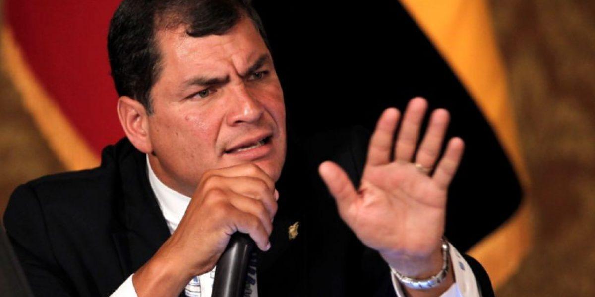 Correa: ni Brasil ni EEUU han dado nombres de presuntos involucrados en Ecuador